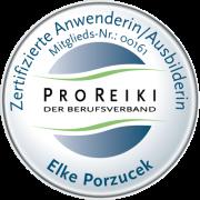 Zertifizierte Anwenderin/Ausbilderin bei ProReiki